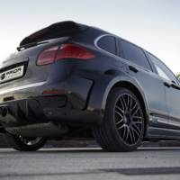 Porsche Cayenne modified by Prior Design
