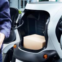 Renault Twizy Cargo, an electric solution for urban utility vehicles