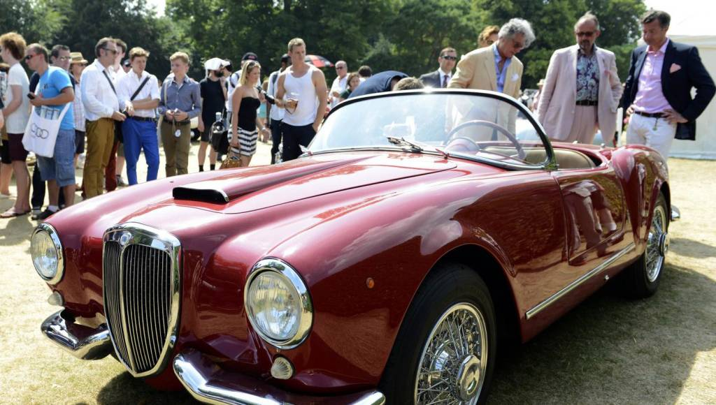 1955 Lancia Aurelia B24S Spider wins Concours dElegance at Goodwood