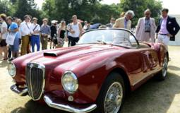 1955 Lancia Aurelia B24S Spider wins Concours dElegance at Goodwood