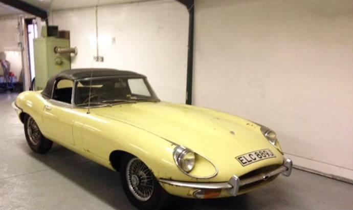 1971 Jaguar E-Type Series 2 out for auction
