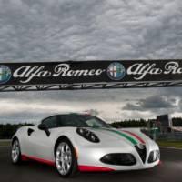 2013 Alfa Romeo 4C Safety Car revealed