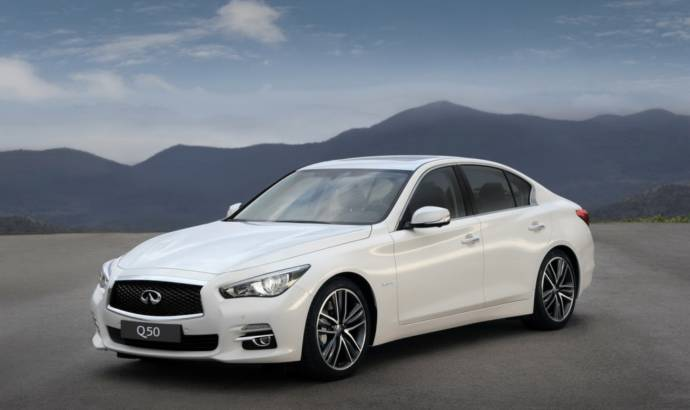 2013 Infiniti Q50 starts at 27.950 GBP in the UK