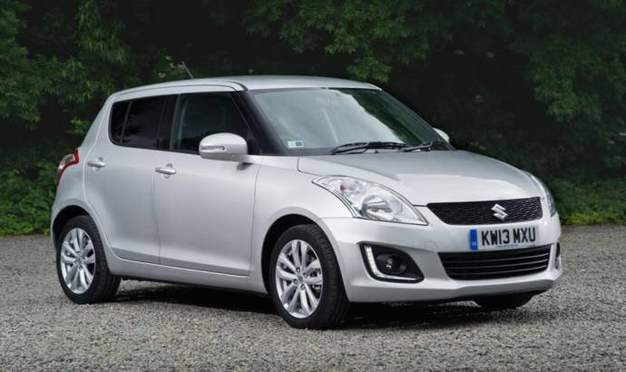 2013 Suzuki Swift range gets updated in the UK