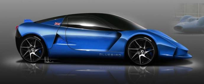2014 Bluebird DC50 EV - a sport model dedicated to Donald Campbell