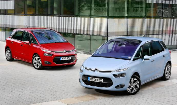 2014 Citroen C4 Picasso starts from 17.500 Pounds in UK