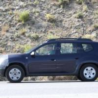 2014 Dacia Duster facelift spied again