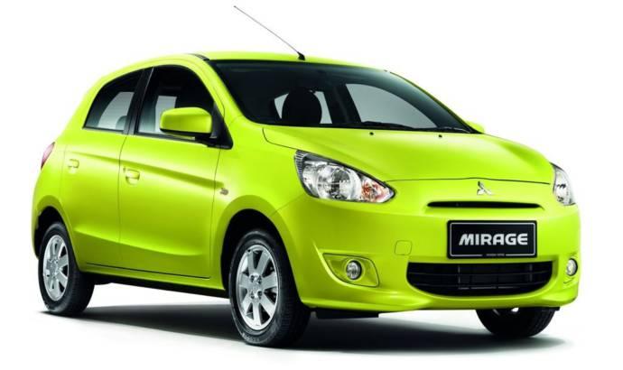 2014 Mitsubishi Mirage US trim levels detailed