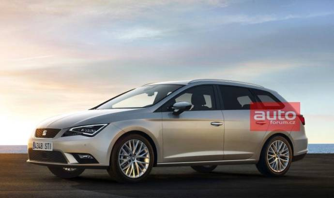2014 Seat Leon ST - First leaked pictures