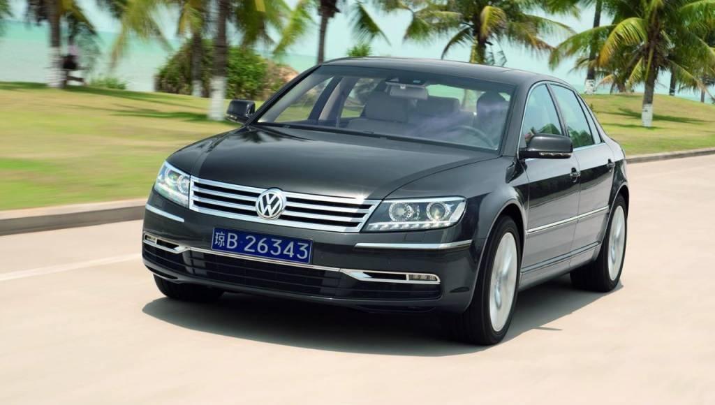 2015 Volkswagen Phaeton is returning to US