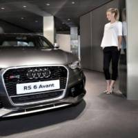 Audi RS6 Avant auctioned for charity at Elton John's home