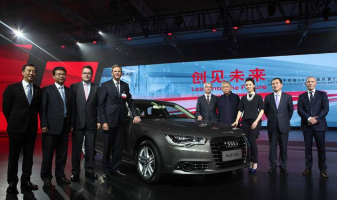 Audi and FAW to develop a plug-in hybrid for China