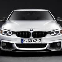 BMW M Performance Package for the 4-Series has been unveiled