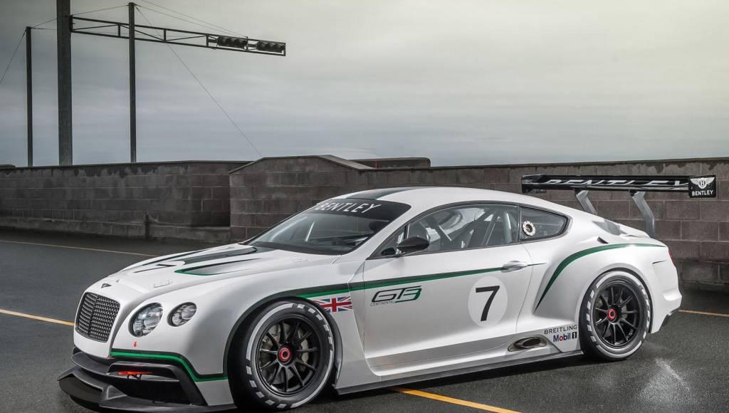 Bentley Continental GT3 to debut in Goodwood