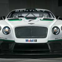 Bentley Continental GT3 unveiled at Goodwood
