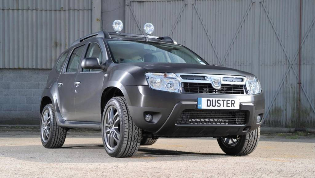 Dacia Duster Black Edition is available in UK