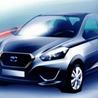 Datsun releases two sketches of its future car, expected july the 15th