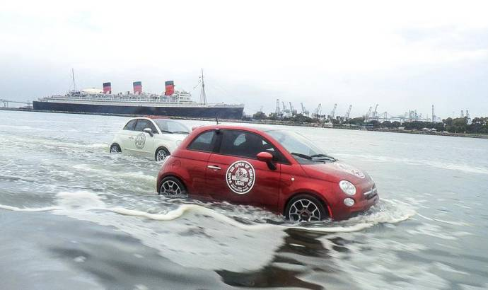 Fiat 500-inspired boats sail on California waters