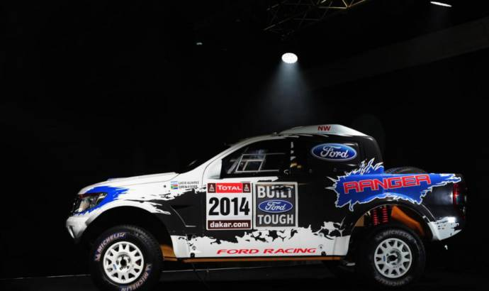 Ford Ranger will compete in 2014 Dakar Rally