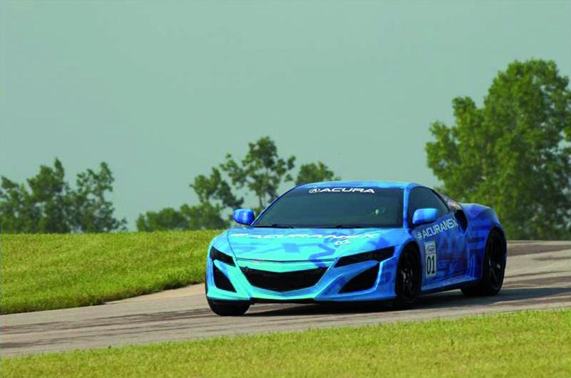 Honda NSX prototype to break cover on Ohio Raceway