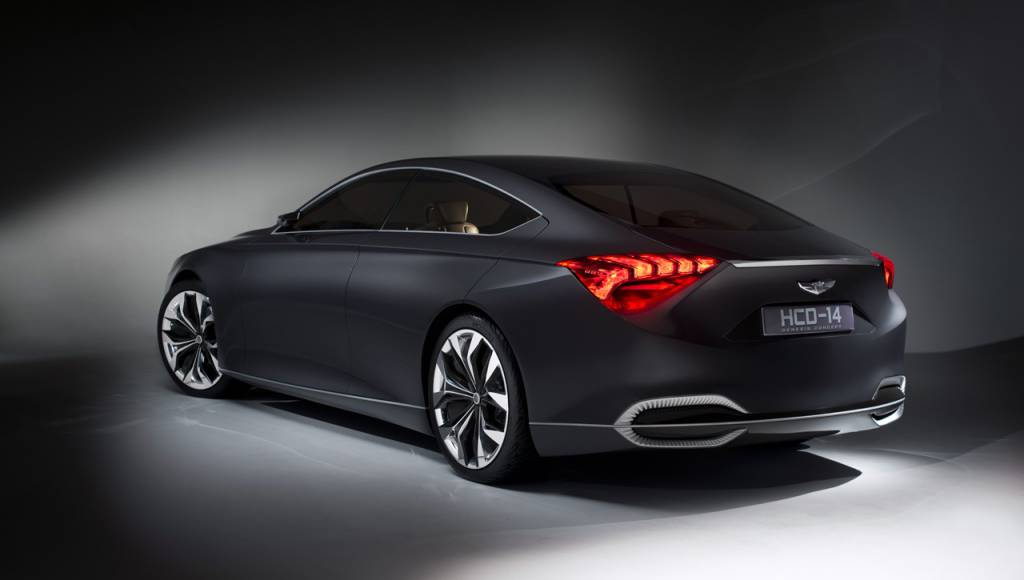 Hyundai HCD-14 Genesis Coupe is Concept car of the year 2013