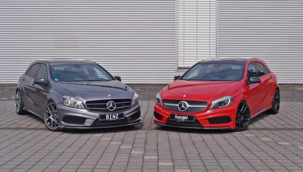 Inden and Binz join forces to customize the new Mercedes A Class