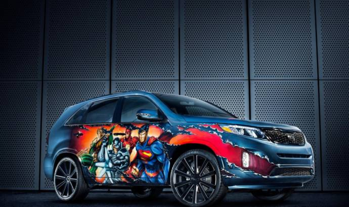 Justice League Kia Sorento unveiled