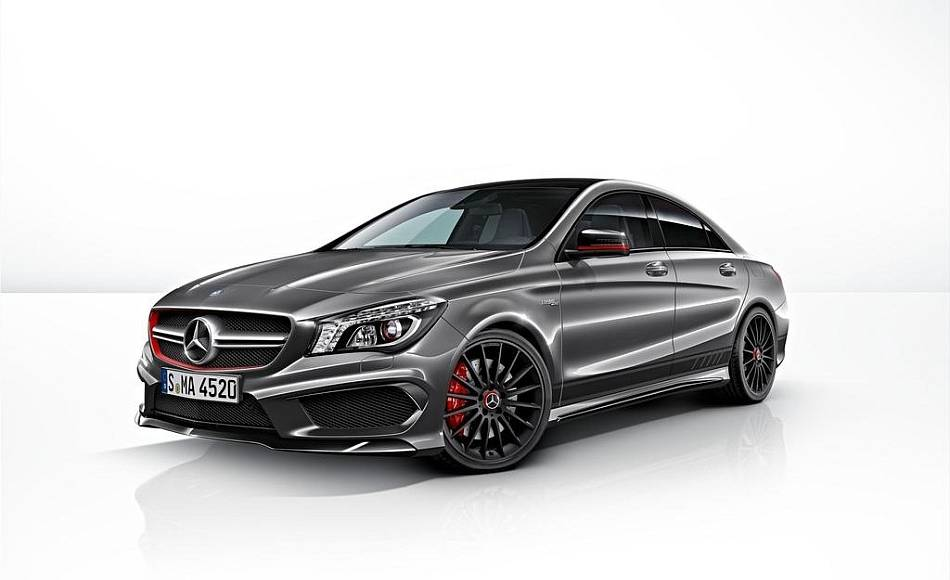 Mercedes A45 AMG and CLA45 AMG receive Edition 1 package