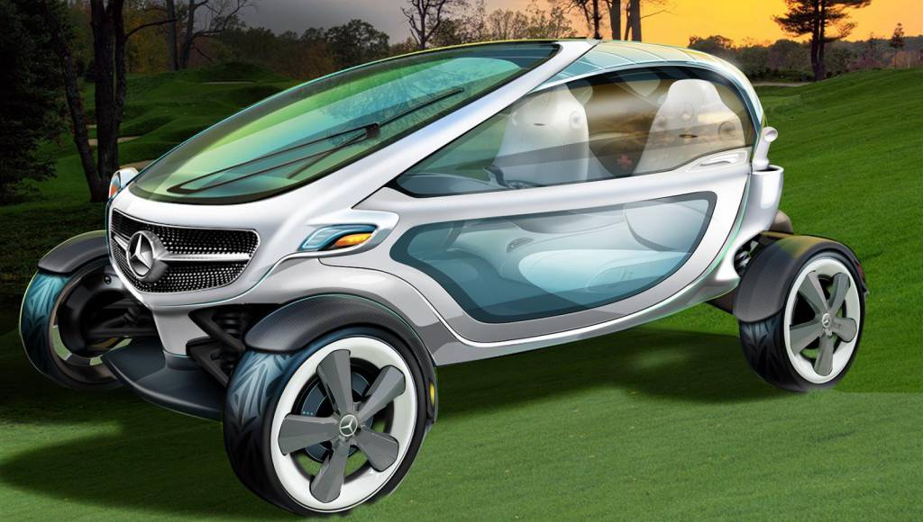 Mercedes Golf Cart envision the future of mobility in sport