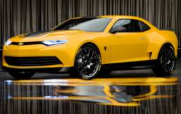 Michael Bay unveils the 2014 Camaro Bumblebee