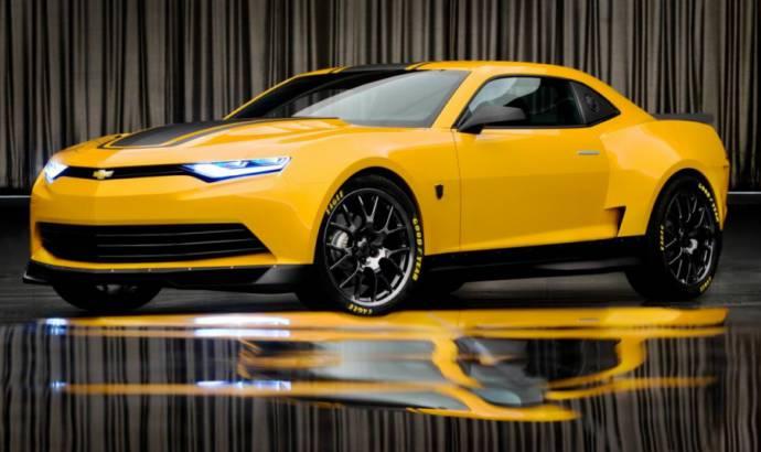 Michael Bay unveils the 2014 Camaro Bumblebee
