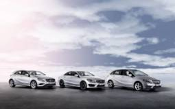 New engines for Mercedes-Benz CLS, A- and B-Class