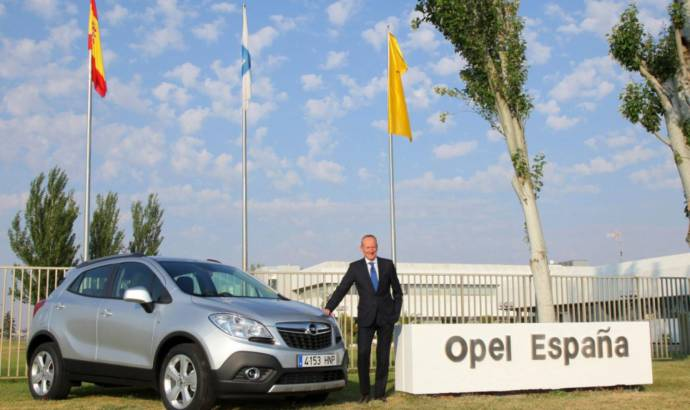 Opel Mokka to be produced in Spain starting 2014