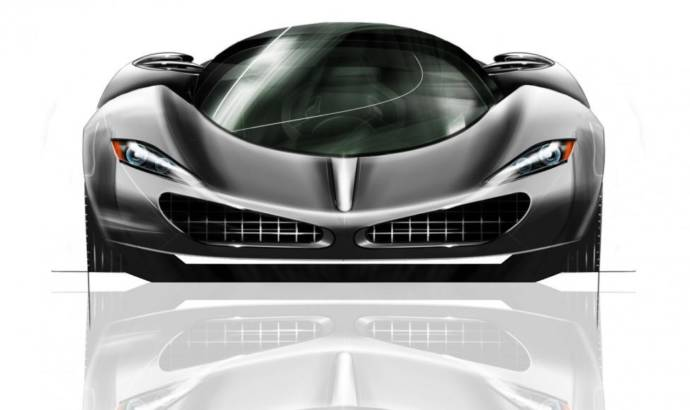 Paul Halstead is planning a 1200 HP supercar