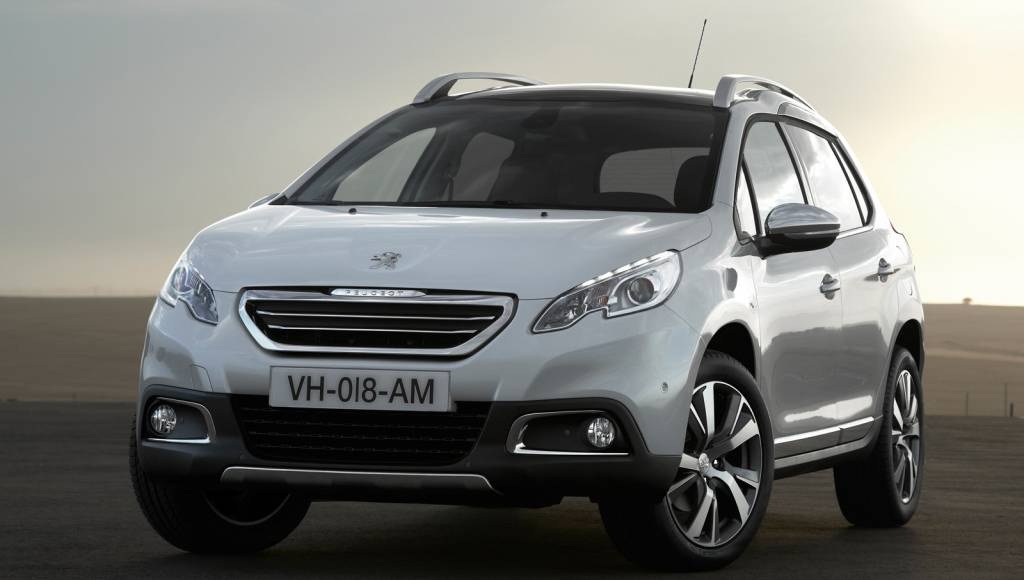 Peugeot 2008 receives 1300 orders in the UK
