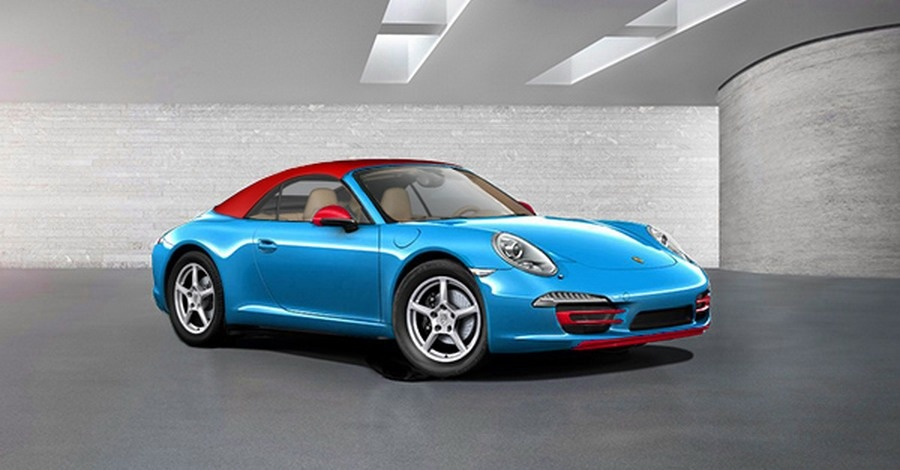 Porsche 911 Blu Edition could debut in Frankfurt