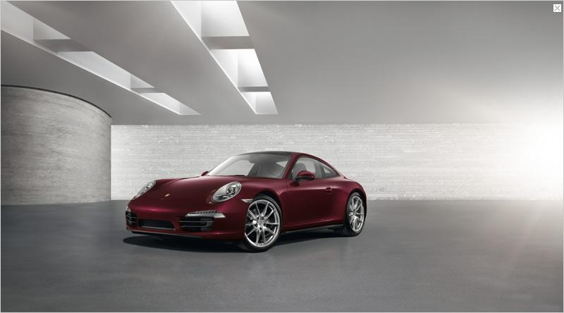 Porsche 911 GUM Red Square Edition - Only for Russia