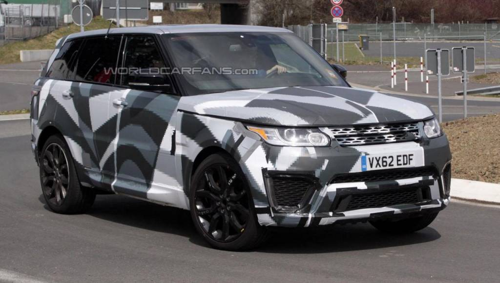 Range Rover Sport RS and Evoque RS are under development