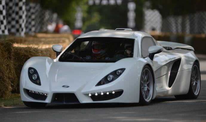 SIN R1: a Corvette-powered Supercar