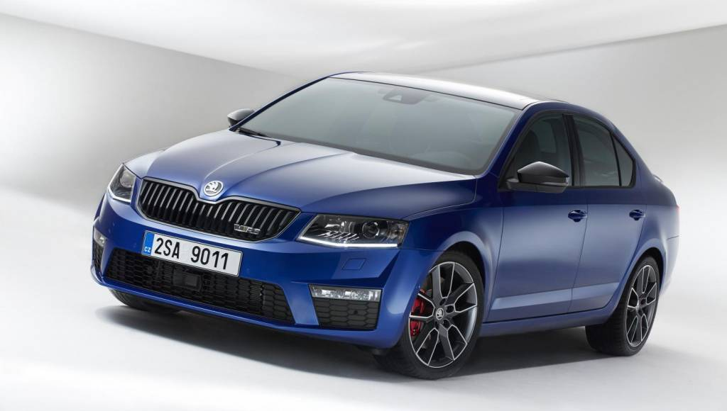 Skoda Octavia vRS starts at 22.990 GBP in UK