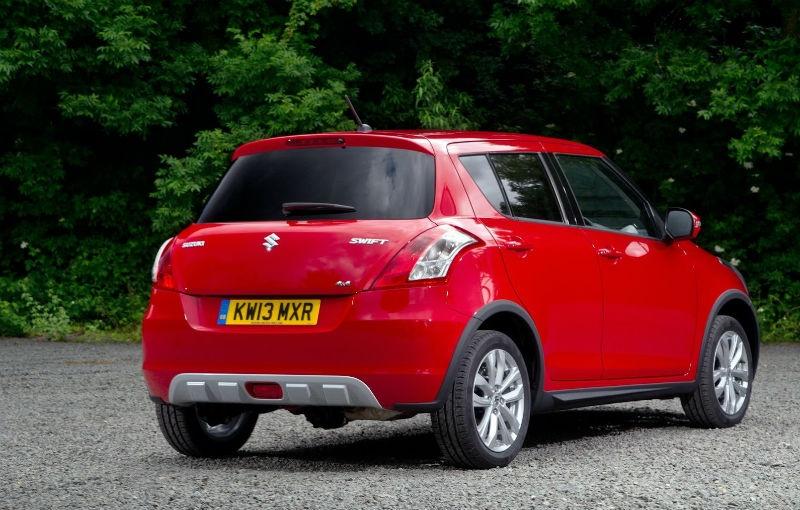 Suzuki Swift 4WD priced at 11.516 GBP in UK