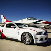 U.S. Air Force Thunderbirds Edition Ford Mustang officially unveiled