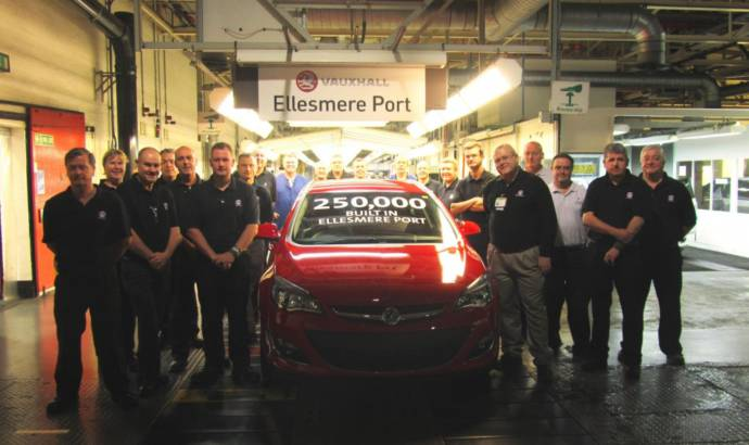 Vauxhall celebrates two production milestones in UK plants