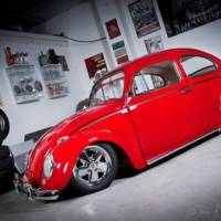 Volkswagen Beetle luxury restored, auctioned at Silverstone