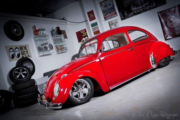 Volkswagen Beetle luxury restored, auctioned at Silverstone