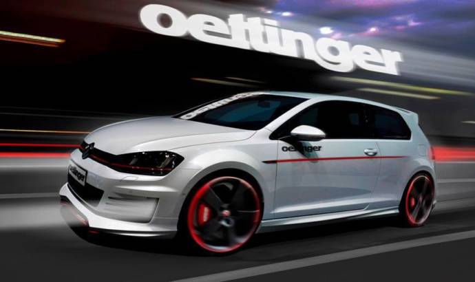 Volkswagen Golf 7 GTI modified by Oettinger