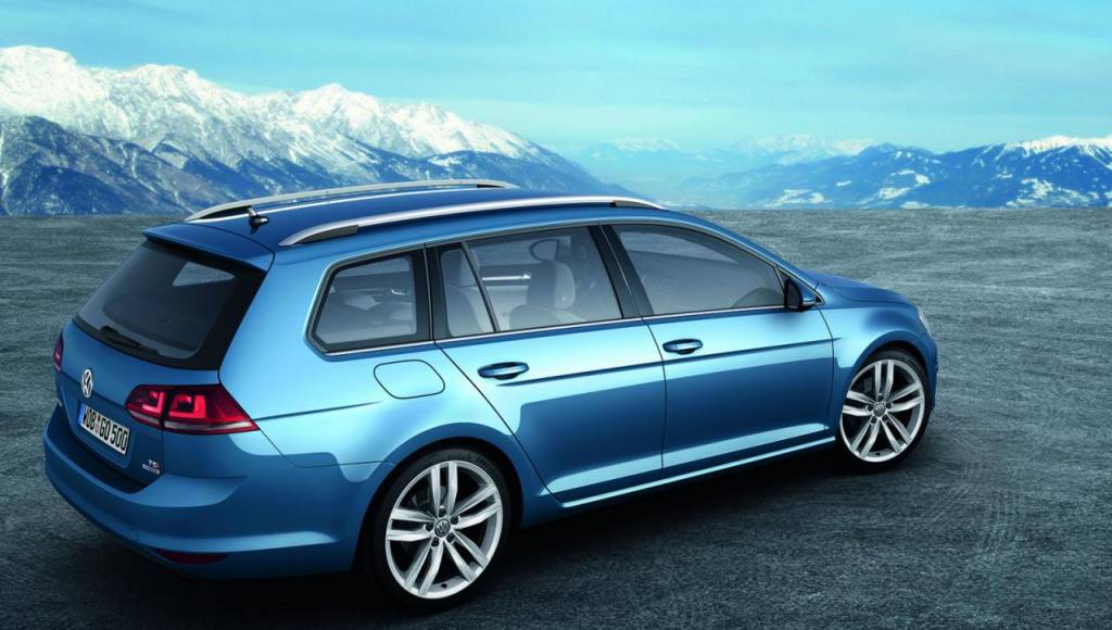 Volkswagen Golf Variant starts at 17.915 pounds in the UK