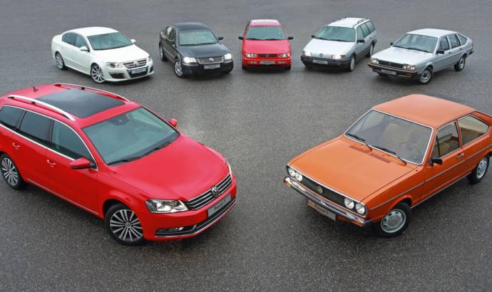 Volkswagen Passat turns 40 years