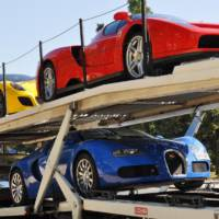 11 supercars sold at an auction for 3.1 million Euros