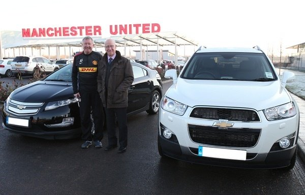 Alex Fergussons Chevrolet Captiva to be auctioned for charitty
